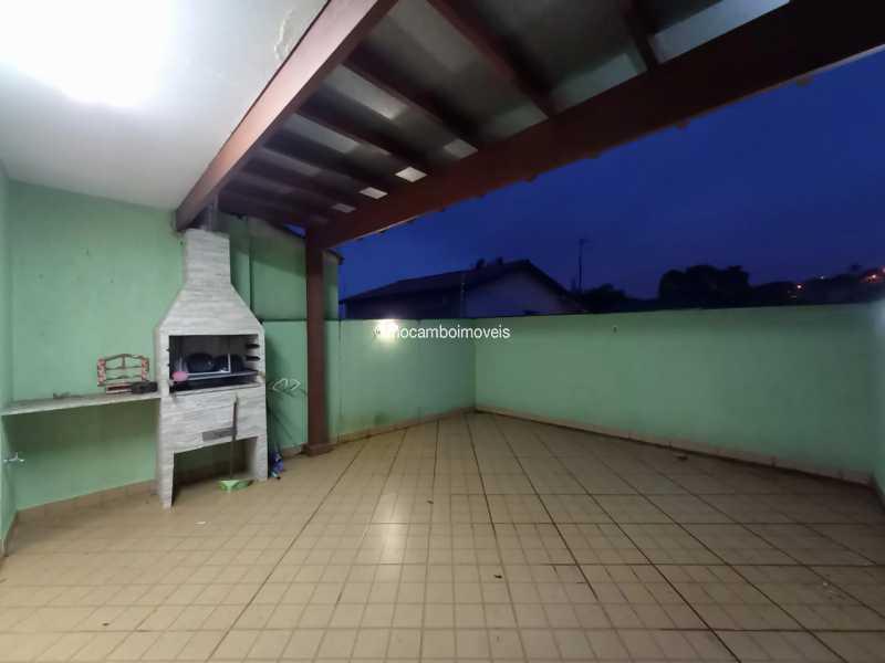 Área de churrasqueira - Casa 3 quartos para alugar Itatiba,SP - R$ 2.200 - FCCA31480 - 18