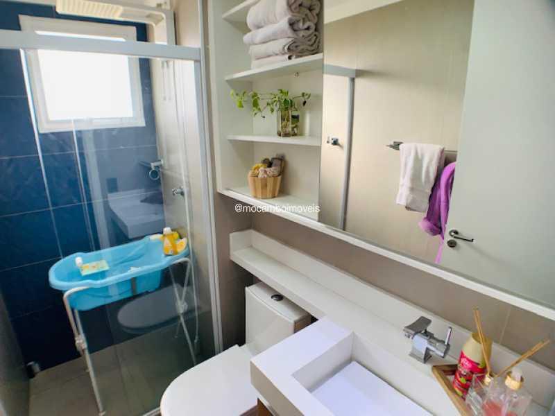 Banheiro  - Apartamento 2 quartos à venda Itatiba,SP - R$ 215.000 - FCAP21285 - 10