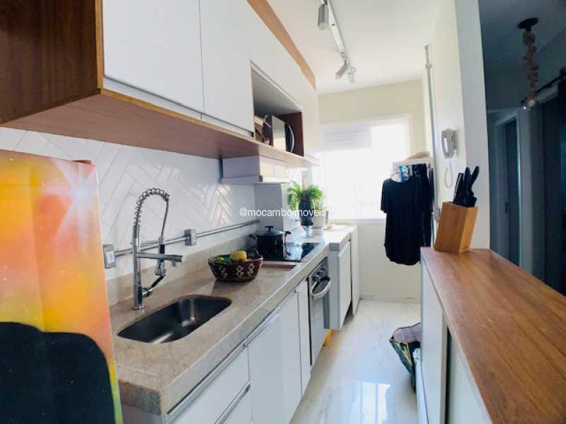 Cozinha  - Apartamento 2 quartos à venda Itatiba,SP - R$ 215.000 - FCAP21285 - 4