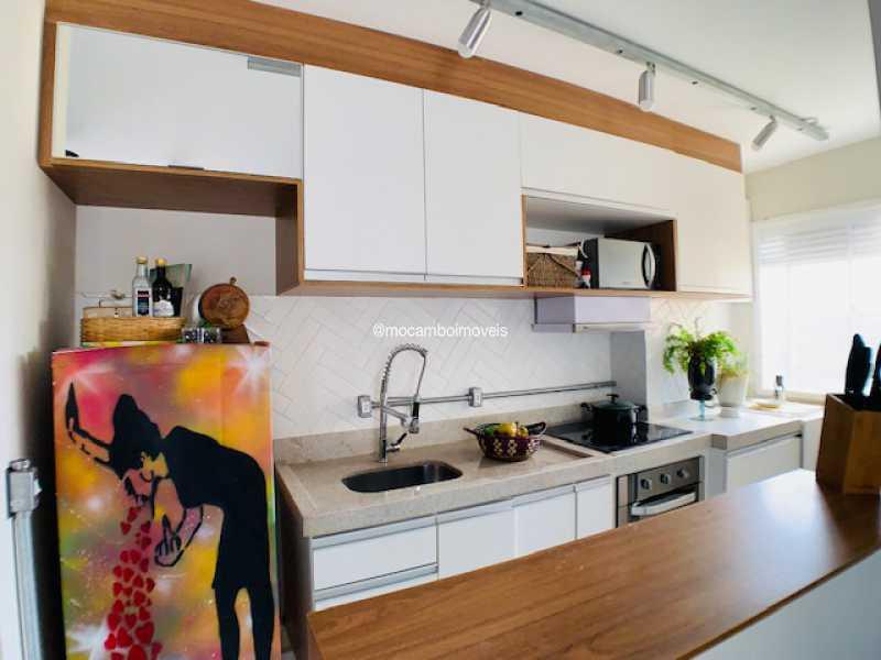Cozinha - Apartamento 2 quartos à venda Itatiba,SP - R$ 215.000 - FCAP21285 - 3