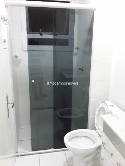 Banheiro - Apartamento 2 quartos à venda Itatiba,SP - R$ 225.000 - FCAP21287 - 5