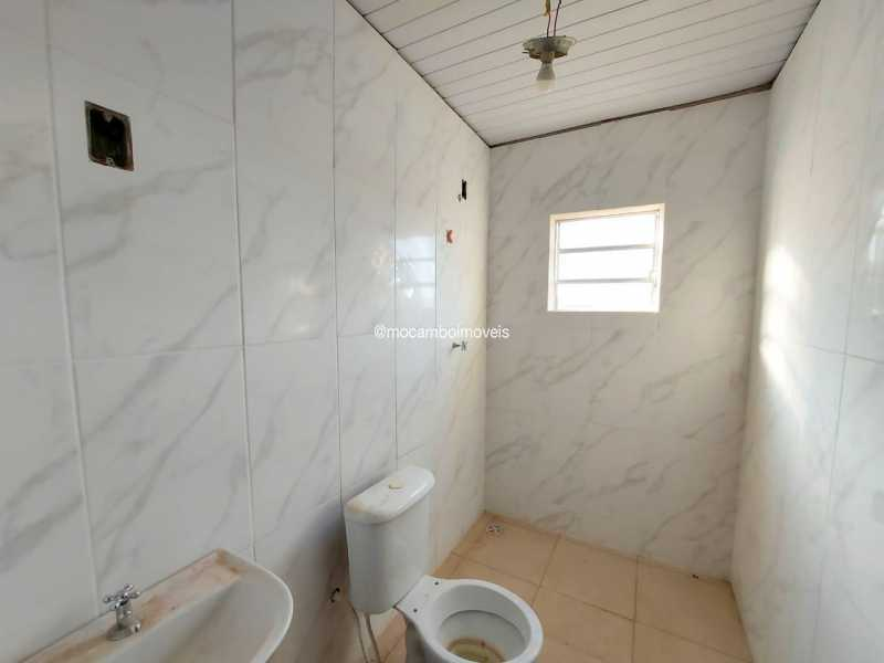 W.C Social - Casa 1 quarto para alugar Itatiba,SP - R$ 850 - FCCA10319 - 4
