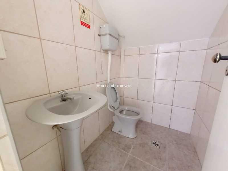 Banheiro social 01 - Galpão 180m² para alugar Itatiba,SP - R$ 4.000 - FCGA00193 - 9