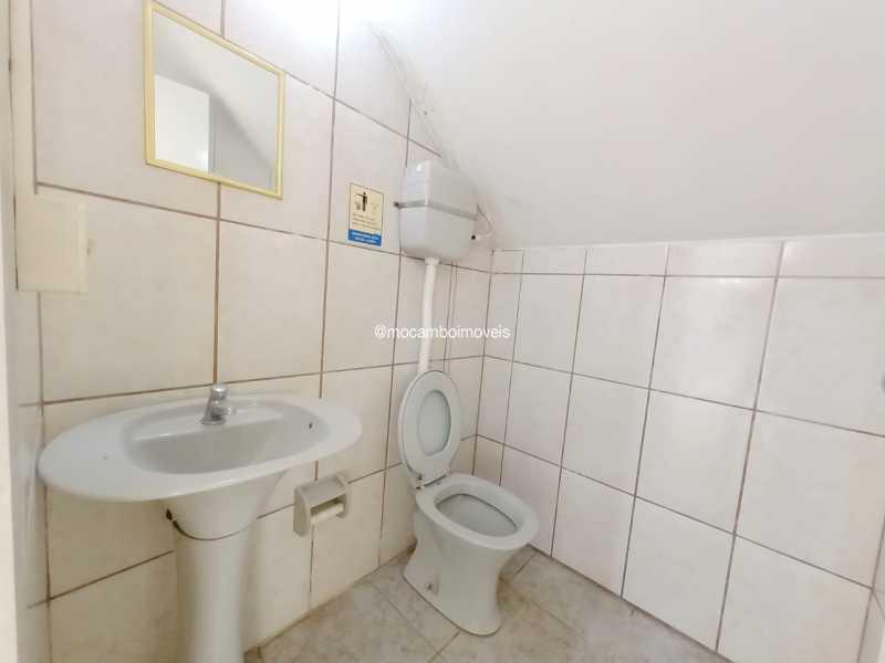 Banheiro social 02 - Galpão 180m² para alugar Itatiba,SP - R$ 4.000 - FCGA00193 - 10