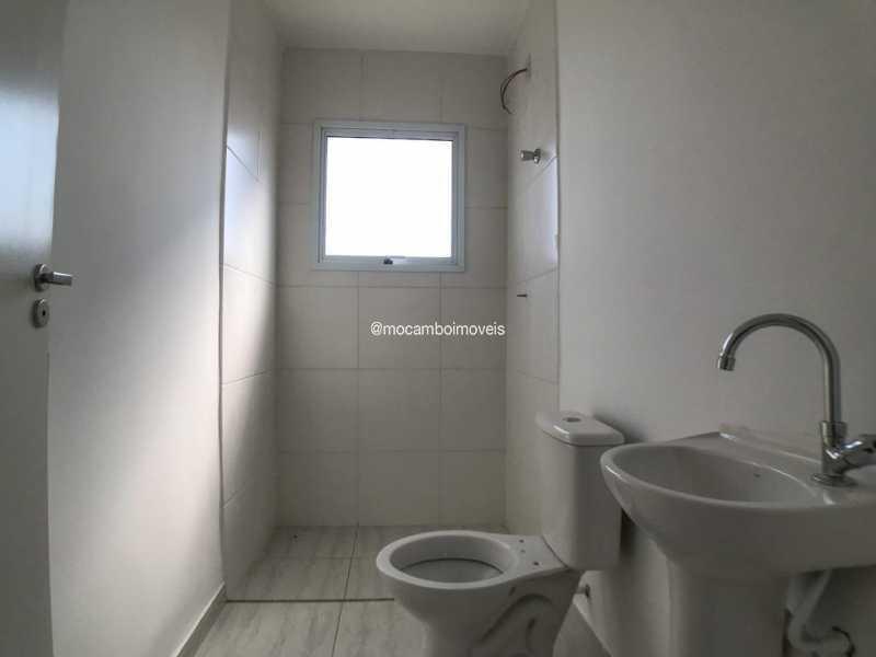 Banheiro - Casa em Condomínio 2 quartos à venda Itatiba,SP - R$ 190.000 - FCCN20043 - 5