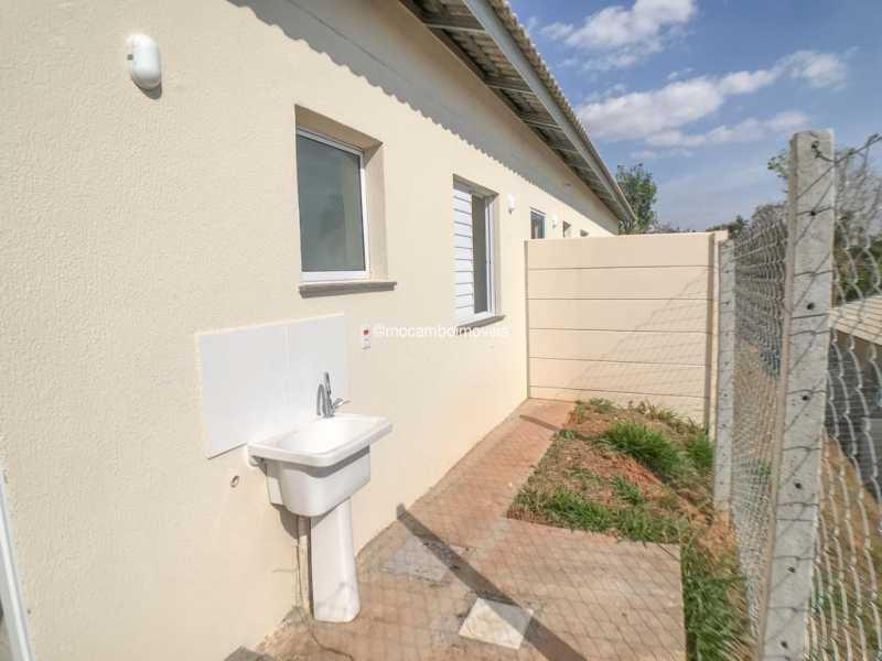 Área Externa - Casa em Condomínio 2 quartos à venda Itatiba,SP - R$ 190.000 - FCCN20043 - 8