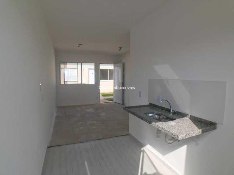 Cozinha - Casa em Condomínio 2 quartos à venda Itatiba,SP - R$ 190.000 - FCCN20043 - 1