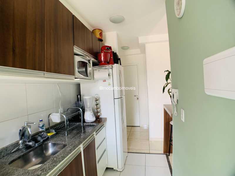 Cozinha - Apartamento 2 quartos à venda Itatiba,SP - R$ 240.000 - FCAP21290 - 1