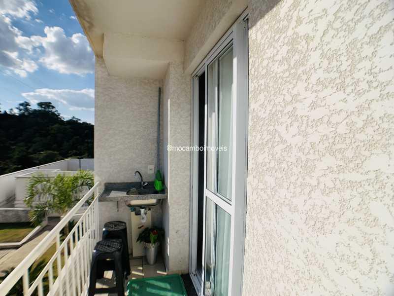 Varanda - Apartamento 2 quartos à venda Itatiba,SP - R$ 240.000 - FCAP21290 - 10