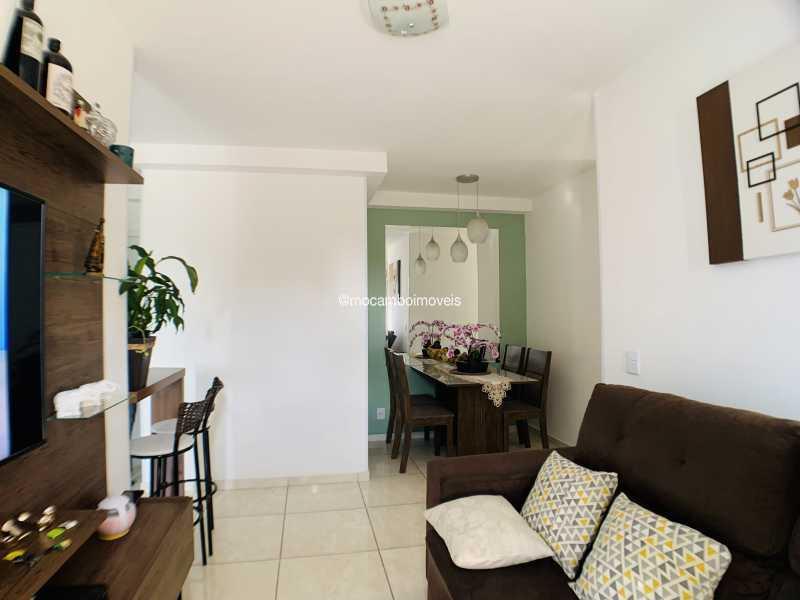 Sala de estar - Apartamento 2 quartos à venda Itatiba,SP - R$ 240.000 - FCAP21290 - 4