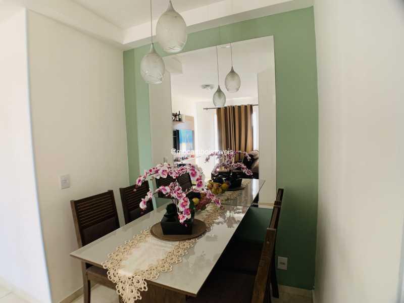 Sala de Jantar  - Apartamento 2 quartos à venda Itatiba,SP - R$ 240.000 - FCAP21290 - 3