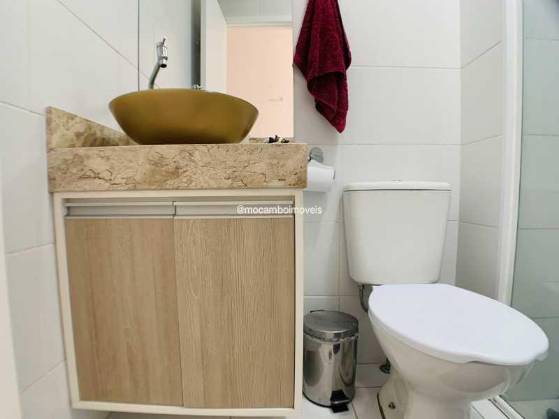 Banheiro - Apartamento 2 quartos à venda Itatiba,SP - R$ 240.000 - FCAP21290 - 6