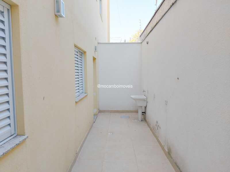 Lavanderia  - Apartamento 3 quartos para alugar Itatiba,SP - R$ 1.400 - FCAP30617 - 8