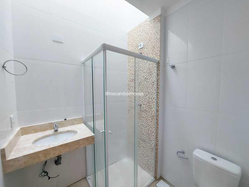 Banheiro  - Apartamento 3 quartos para alugar Itatiba,SP - R$ 1.300 - FCAP30618 - 7
