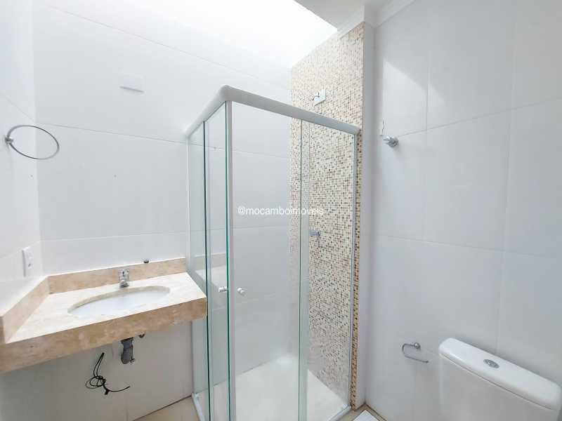 Banheiro  - Apartamento 3 quartos para alugar Itatiba,SP - R$ 1.300 - FCAP30619 - 7