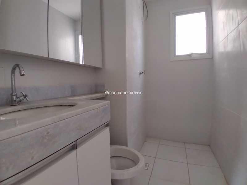 Banheiro Social - Apartamento 2 quartos para alugar Itatiba,SP - R$ 1.200 - FCAP21292 - 6