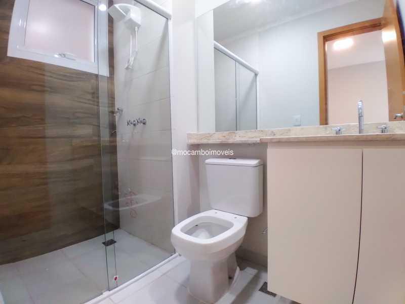 Banheiro Suíte - Apartamento 3 quartos para alugar Itatiba,SP - R$ 3.000 - FCAP30620 - 7