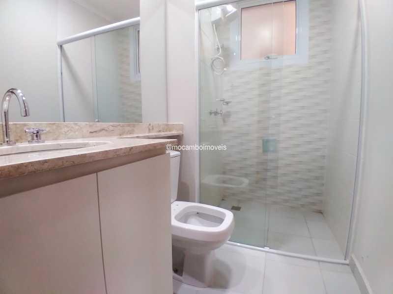 Banheiro Social - Apartamento 3 quartos para alugar Itatiba,SP - R$ 3.000 - FCAP30620 - 10