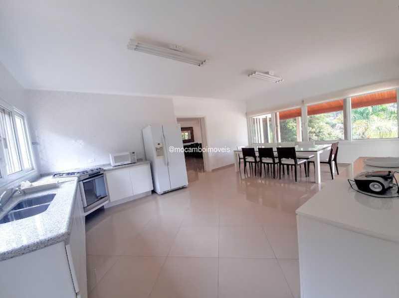 Cozinha  - Casa em Condomínio 4 quartos à venda Itatiba,SP - R$ 2.700.000 - FCCN40186 - 6