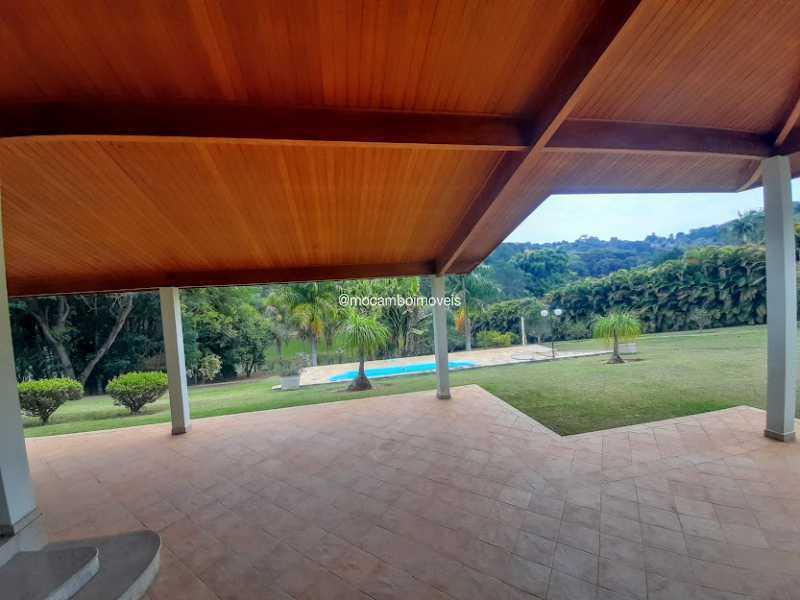 Varanda  - Casa em Condomínio 4 quartos à venda Itatiba,SP - R$ 2.700.000 - FCCN40186 - 28
