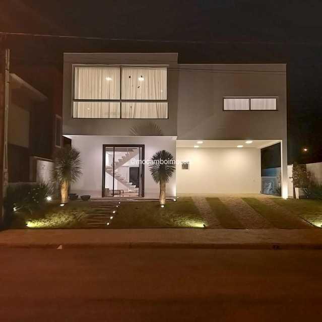 Fachada - Casa em Condomínio 2 quartos à venda Itatiba,SP - R$ 880.000 - FCCN20044 - 1