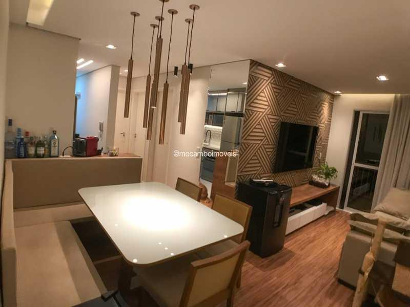 Salas - Apartamento 2 quartos à venda Itatiba,SP - R$ 299.000 - FCAP21299 - 1