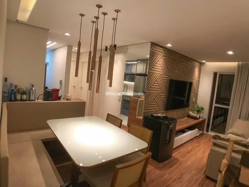 Salas - Apartamento 2 quartos à venda Itatiba,SP - R$ 299.000 - FCAP21299 - 4