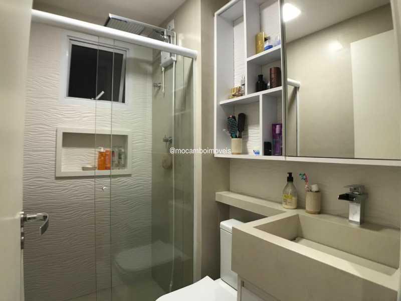 Banheiro - Apartamento 2 quartos à venda Itatiba,SP - R$ 299.000 - FCAP21299 - 12