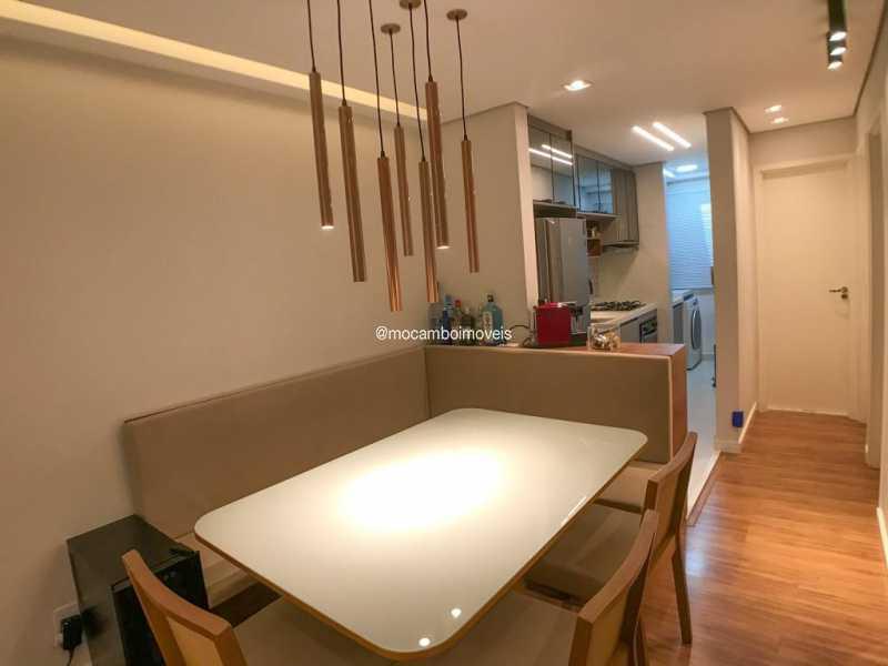 Sala Jantar - Apartamento 2 quartos à venda Itatiba,SP - R$ 299.000 - FCAP21299 - 3
