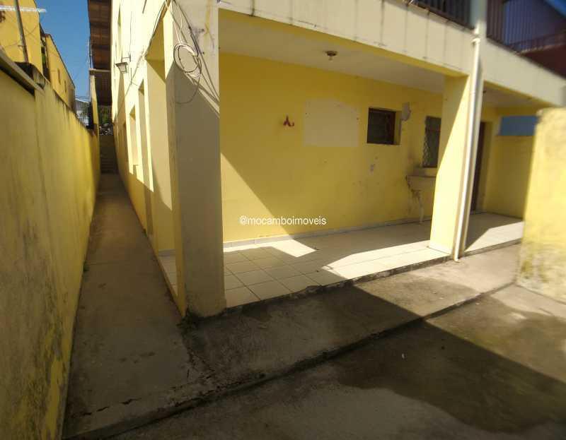 Fachada/ Quintal - Casa 2 quartos para alugar Itatiba,SP - R$ 1.175 - FCCA21502 - 1
