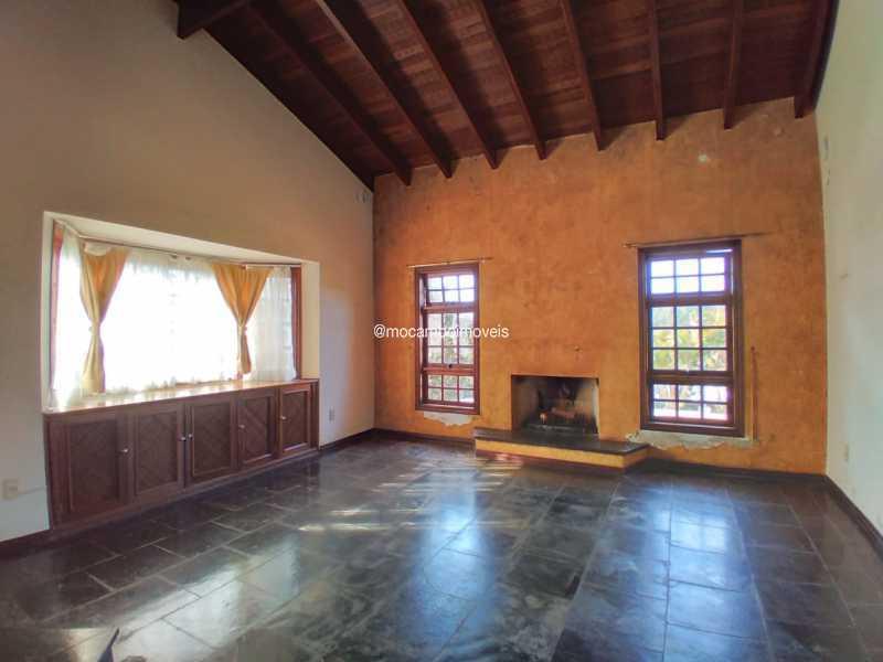 Sala de TV/Lareira - Casa em Condomínio 4 quartos para alugar Itatiba,SP - R$ 4.500 - FCCN40188 - 7