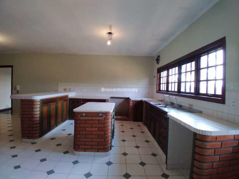 Cozinha - Casa em Condomínio 4 quartos para alugar Itatiba,SP - R$ 4.500 - FCCN40188 - 15