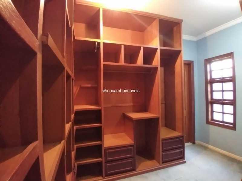 Closet Suíte - Casa em Condomínio 4 quartos para alugar Itatiba,SP - R$ 4.500 - FCCN40188 - 18