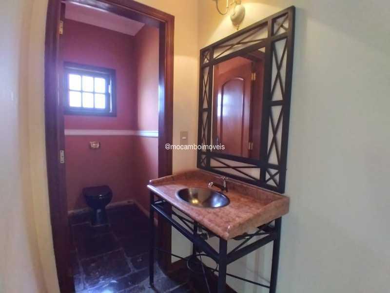 Lavabo - Casa em Condomínio 4 quartos para alugar Itatiba,SP - R$ 4.500 - FCCN40188 - 11