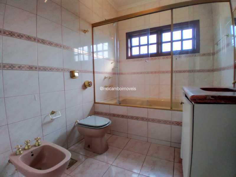 Banheiro Social - Casa em Condomínio 4 quartos para alugar Itatiba,SP - R$ 4.500 - FCCN40188 - 21