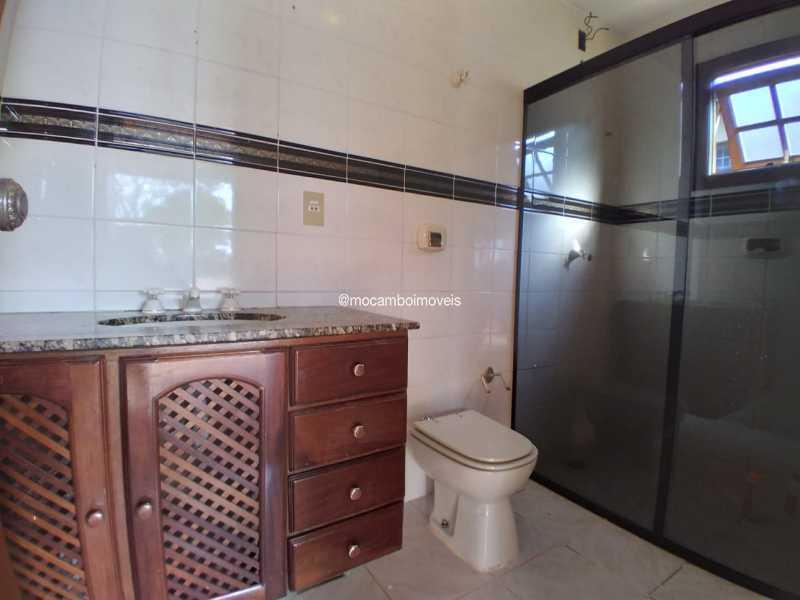 Banheiro Área de Churrasqueira - Casa em Condomínio 4 quartos para alugar Itatiba,SP - R$ 4.500 - FCCN40188 - 29