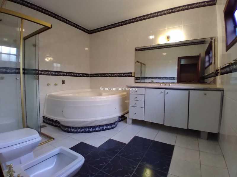 Banheiro Suíte - Casa em Condomínio 4 quartos para alugar Itatiba,SP - R$ 4.500 - FCCN40188 - 17