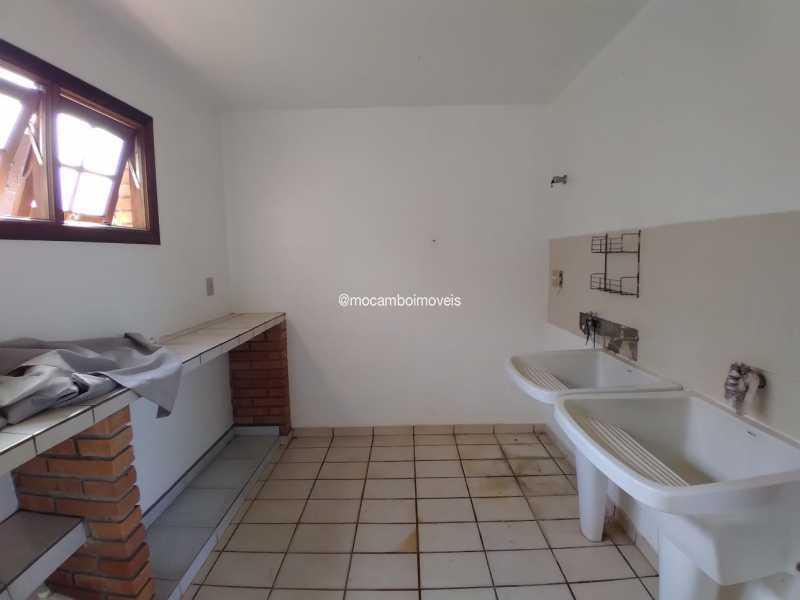 Área de Serviço - Casa em Condomínio 4 quartos para alugar Itatiba,SP - R$ 4.500 - FCCN40188 - 26