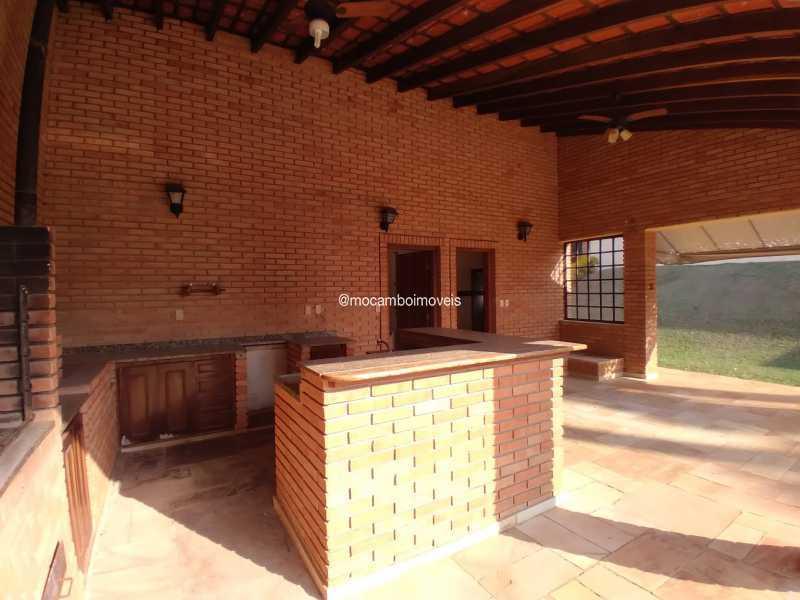 Área de Churrasqueira - Casa em Condomínio 4 quartos para alugar Itatiba,SP - R$ 4.500 - FCCN40188 - 28