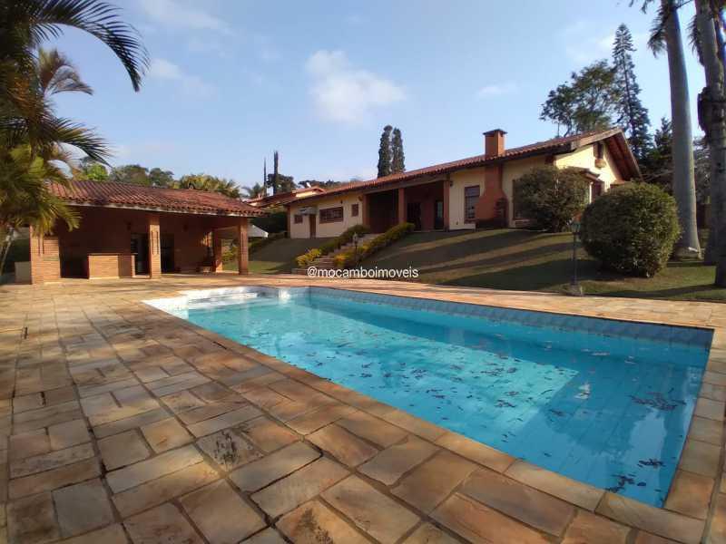 Área Externa - Casa em Condomínio 4 quartos para alugar Itatiba,SP - R$ 4.500 - FCCN40188 - 3