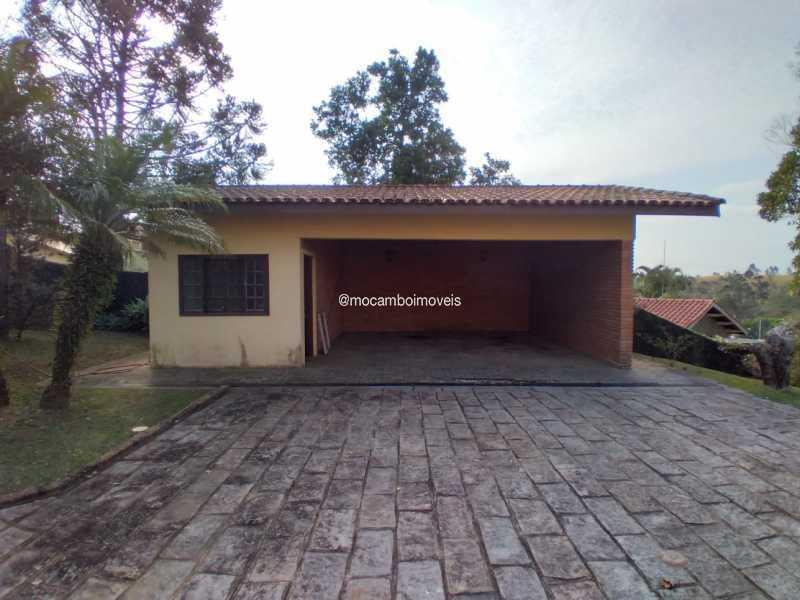 Área Externa - Casa em Condomínio 4 quartos para alugar Itatiba,SP - R$ 4.500 - FCCN40188 - 30