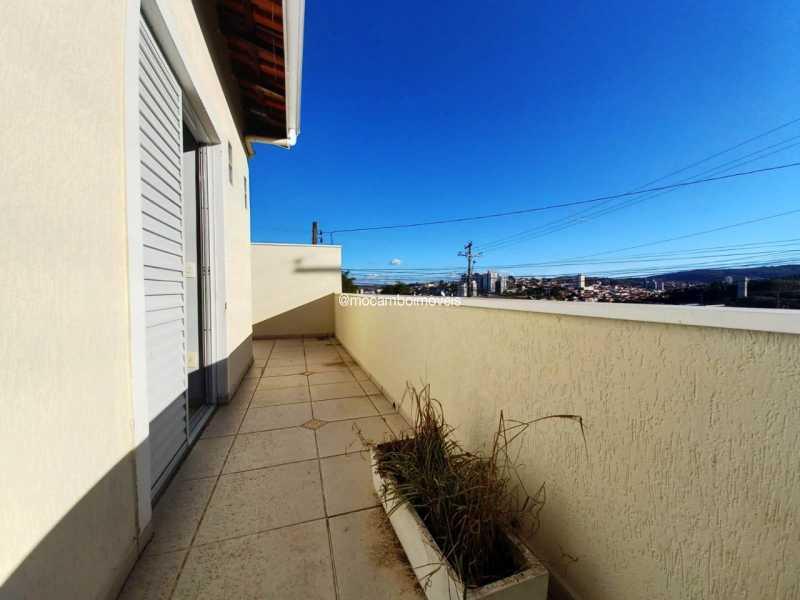 Sacada da Sala Privativa - Casa 3 quartos para alugar Itatiba,SP - R$ 3.000 - FCCA31496 - 11