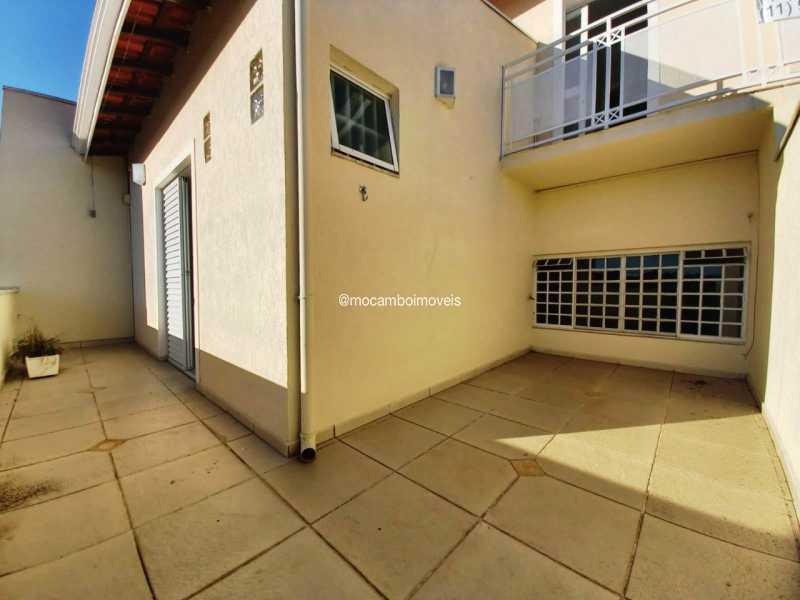 Sacada da Sala Privativa - Casa 3 quartos para alugar Itatiba,SP - R$ 3.000 - FCCA31496 - 12