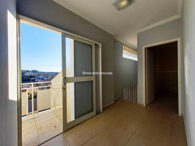 Hall dos Dormitórios - Casa 3 quartos para alugar Itatiba,SP - R$ 3.000 - FCCA31496 - 13