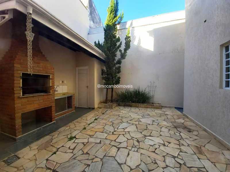 Quintal e Área Churrasqueira - Casa 3 quartos para alugar Itatiba,SP - R$ 3.000 - FCCA31496 - 22