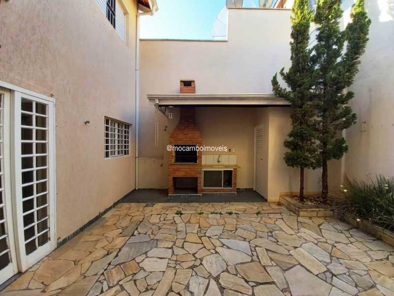 Quintal e Área Churrasqueira - Casa 3 quartos para alugar Itatiba,SP - R$ 3.000 - FCCA31496 - 23