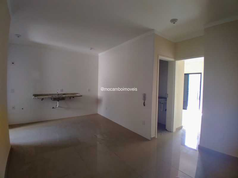 Sala/Cozinha - Apartamento 2 quartos para alugar Itatiba,SP - R$ 1.000 - FCAP21305 - 3