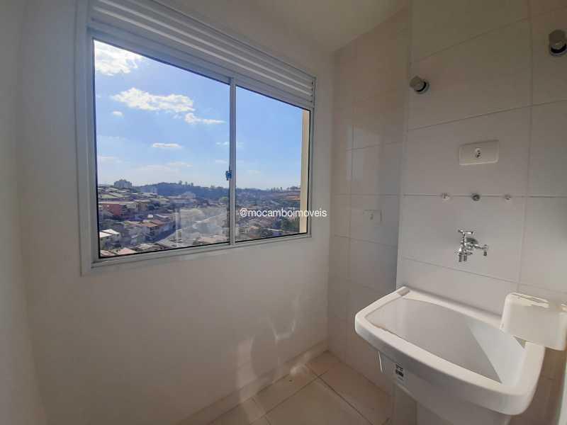 Lavanderia - Apartamento 2 quartos para alugar Itatiba,SP - R$ 1.700 - FCAP21309 - 7