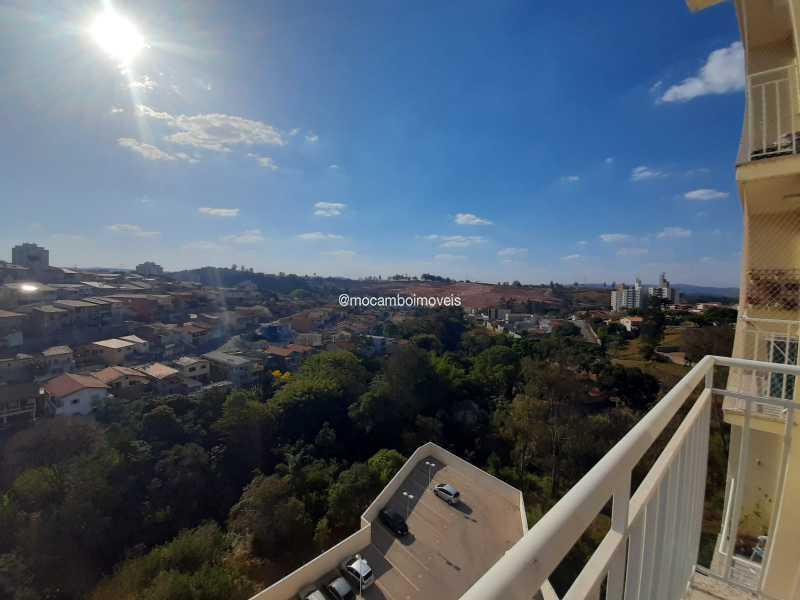 Vista da Sacada - Apartamento 2 quartos para alugar Itatiba,SP - R$ 1.700 - FCAP21309 - 5