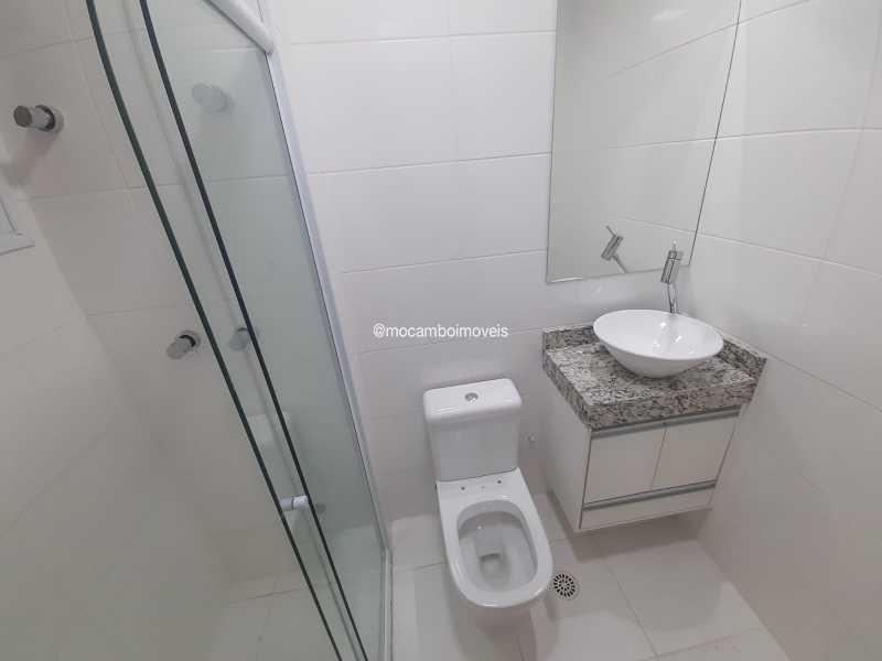 Banheiro da suite - Apartamento 2 quartos para alugar Itatiba,SP - R$ 1.700 - FCAP21309 - 12